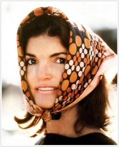 Jackie Kennedy scarf
