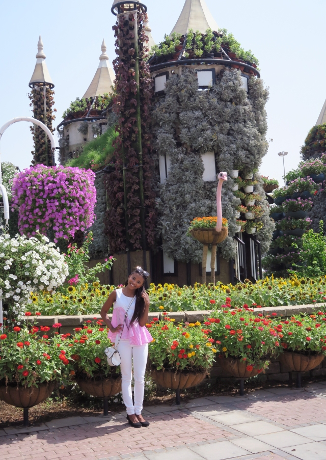 Visiting Miracle Garden 1